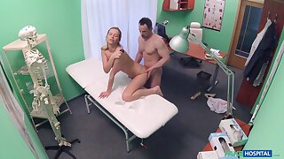 Man ass fucks horny nurse and gets taped in secret