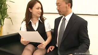 Handsome Japanese partition Rin Ayame gets naked and fucked good