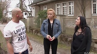 Hardcore fucking on the floor with German amateur wife Katja