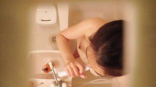 Innocent Asian Showering