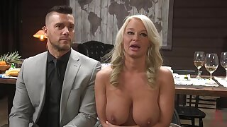 Someone's skin Dinner Party: Headman Wife London River Gets Anally Creampied