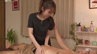 Duteous New Massagist 1 With Runa Kanda With an increment of Narumi Ayase