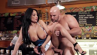 Stunning Anissa Kate gets penetrated away from a large cock - HD
