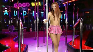 Experienced gogo dancer auditions for a job
