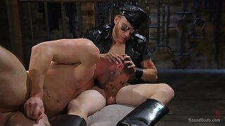 Gays share the rough play in full XXX scenes