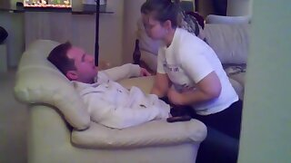 Lexi dominated hubby's friend with a blowjob and handjob. In the next video Lexi rides him until he creampies her pussy for lube! and a second load.