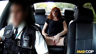 Redhead gets banged by the cops relocation here jail
